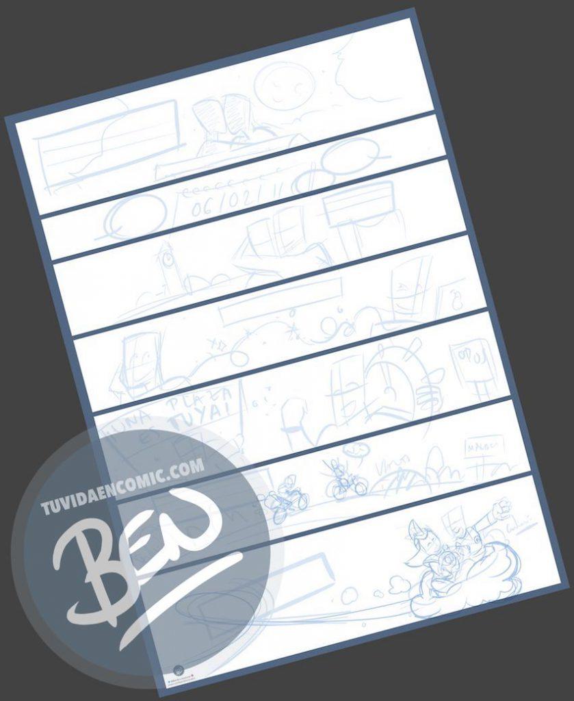 """Cómic personalizado - """"Regalo de boda con Nuestra historia de Amor en viñetas"""" - www.tuvidaencomic.com - Regalos personalizados - Bodas personalizadas - Bodas originales - Tu Vida en Cómic - a1"""