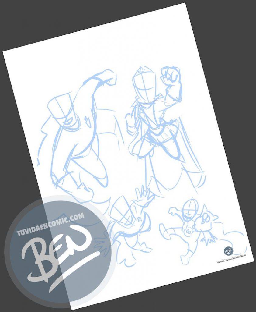 Ilustración - Regalo del día del Padre personalizado - Portada de cómic - www.tuvidaencomic.com - Regalos personalizados - Tu Vida en Cómic - BEN - 0
