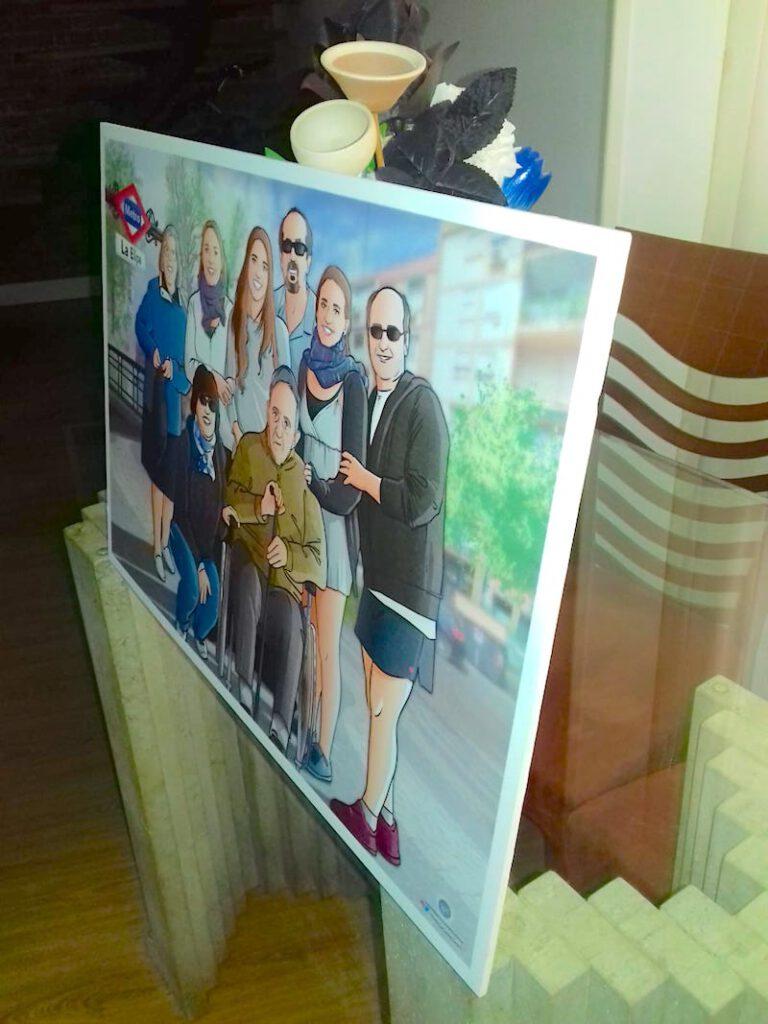 Ilustración-de-familia-Todos-con-el-abuelo-Caricatura-familiar-Regalo-personalizado-Tu-Vida-en-Cómic-tuvidaencomic.com-7