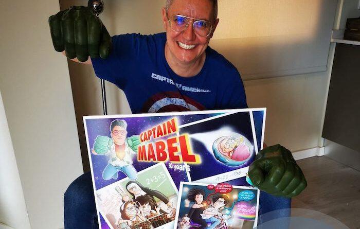 """Cómic personalizado - """"Captain Mabel"""" - Regalo de cumpleaños personalizado - Testimonio 1b"""