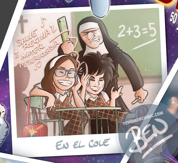 """Cómic personalizado - """"Captain Mabel"""" - Regalo de cumpleaños personalizado - www.tuvidaencomic.com - Caricaturas - Borja_Ben_ART - Banner principal31234"""