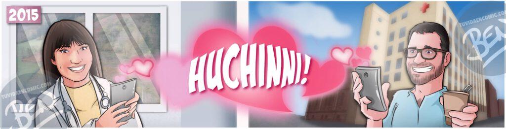 """Cómic Personalizado – """"Nuestra vida juntos, viajes, confinamiento y mucho huchinni"""" – Regalo de aniversario original y romántico - tuvidaencomic.com - 0b"""