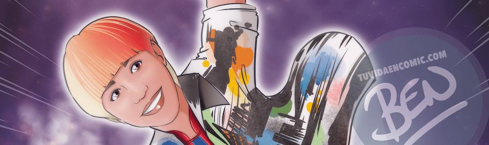"""Ilustración personalizada – """"Soy toda una Superheroína"""" – Caricatura personalizada – Caricatura de superhéroes - www.tuvidaencomic.com - 6"""